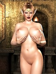 busty monstrous girls 3d compilation